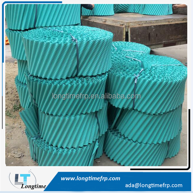 Factory Direct Cooling Tower Fill Sheets, PVC filler, Round Tower Film Fill