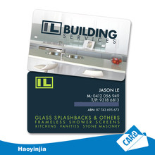 Free Sample Visiting Cards Plastic Business Cards Printing