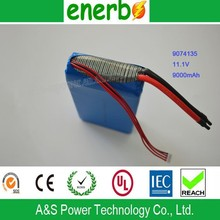 Top Selling 11.1V 9Ah Lipo Battery Powed for Portable MINI Multi-Function 12V Jump Starter Electric Car Battery Pack