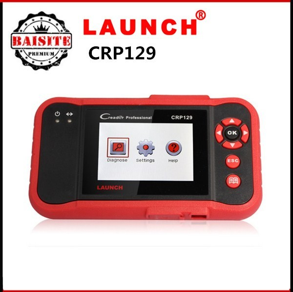 Launch Creader CRP129 Scanner Launch CRP 129 Auto Code Reader Update Online Function As LAUNCH Creader VIII Better Than CRP123