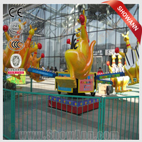 Kangaroo bounce entertainment rides mini fun city games