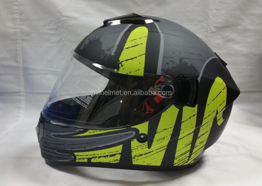 OEM factory directly stylish full face motorcycle helmets off road helmet vega dot helmets YM-830