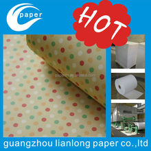 custom colorful glossy gift wrapping paper for custom design wholesale