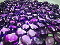 #CAM Natural Loose Gemstone Amethyst Cabs