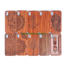 New Arrived Laser Carving Engraved Pattern Real Wood +Pc Hard Case For iPhone X
