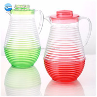 wholesale water glass container for beverage copper water pitcher bar pot