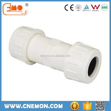 U-PVC water supply pipe plastic compression fittings