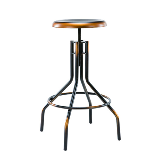 master design industrial wooden bar stool chair cheap stacking stool