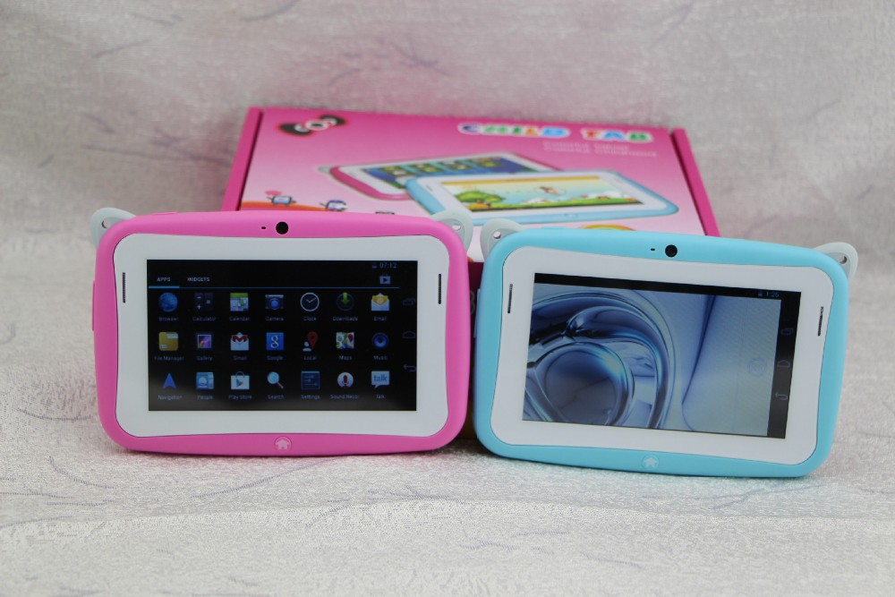 Kids Pre school Tablet PC Hot Sale Cheapest 4.3 Inch RK2926 Android 4.2 512MB RAM 4GB ROM WIFI Dual Cam MINI Tablet