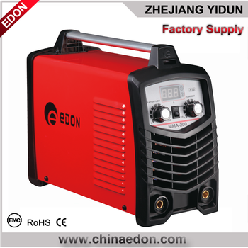 PORTABLE MMA-200 DC INVERTER WELDiING MACHINE