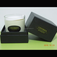 New Year luxury gifts jar scented candles with high-end box packing DHL Shipping Free