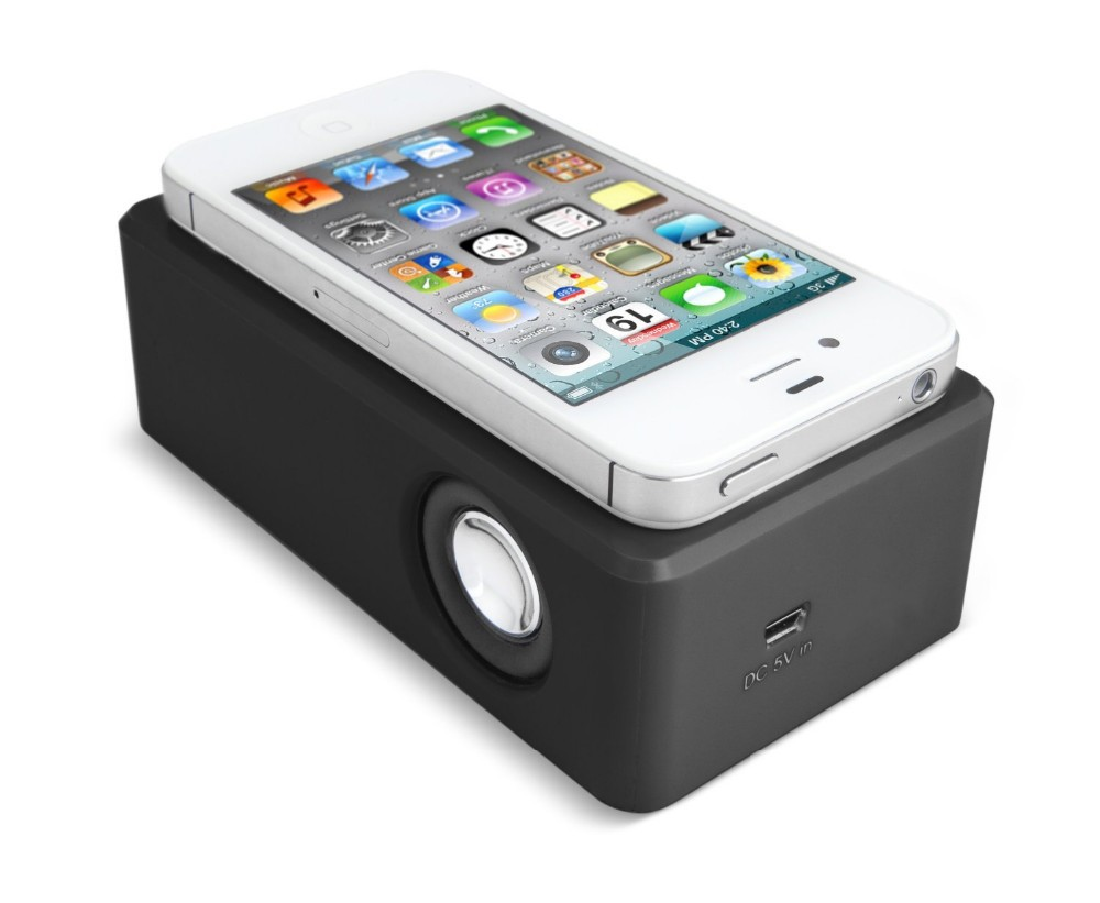 Portable mini magic induction amplifier speaker for all IOS/Android system with CE,RoHS,FCC certificate