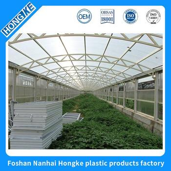 Low price of quality guarantee tinted clear plastic roof tile