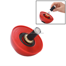 Semi-Circle ABS Spill Proof Nail Polish Holder Creative Nail Tools Manicure Nail Polish Bottle Holder Display
