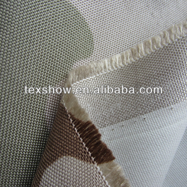 1000D cordura printed fabric with flame retardant coating