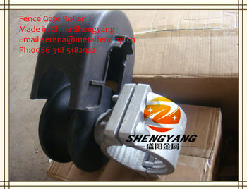 sliding fence gate roller or wheel (Made In China)