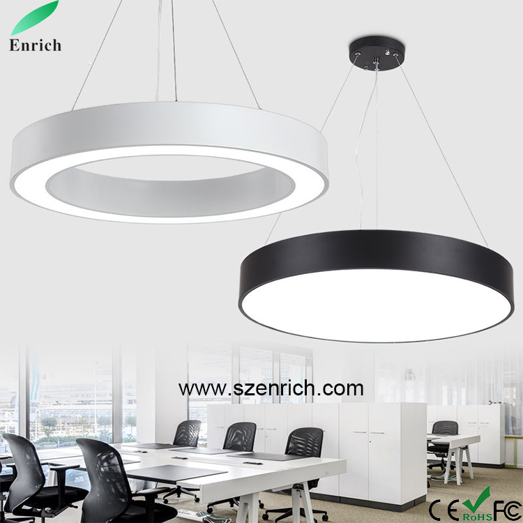 5*18W LED Lamp European Modern Round Acrylic Chandelier Ceiling Pendant Light