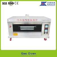Deck oven, mini style gas oven