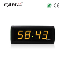 [GANXIN]1.8 inch yellow/amber world time clock ajanta wall clock models best selling products