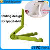 novelty 2016 folding plastic holder stands for ipad pro, foldable holder for tablet pc