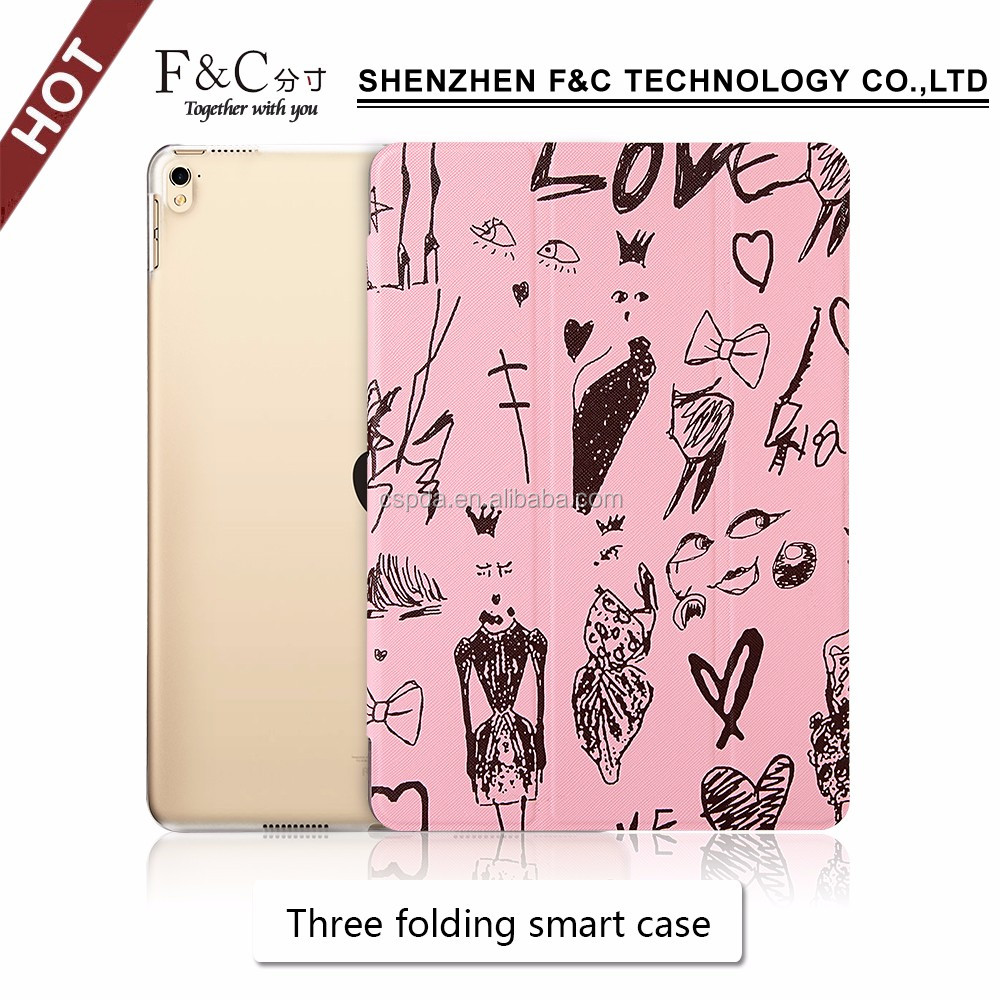 PU / Leather stand folio for ipad pro 10.5 case