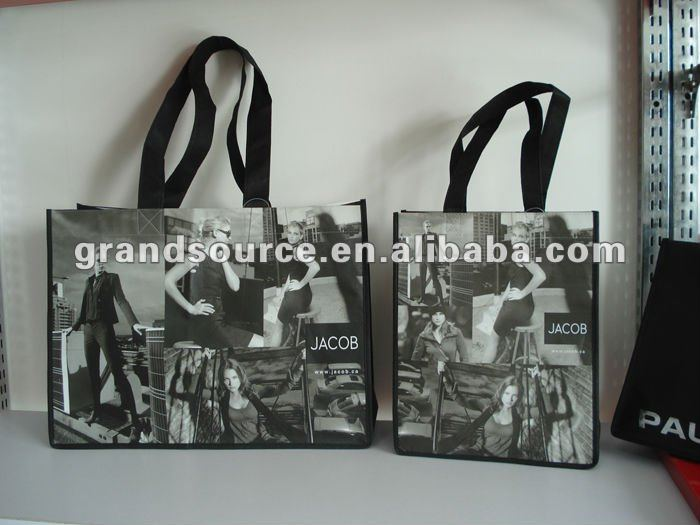 Professional experience PP woven laminated photo bag factory