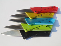 The 3rd Generation New Style 5 Different Colours Credit Card Knives/ Wallet Tools/Pocket Knives