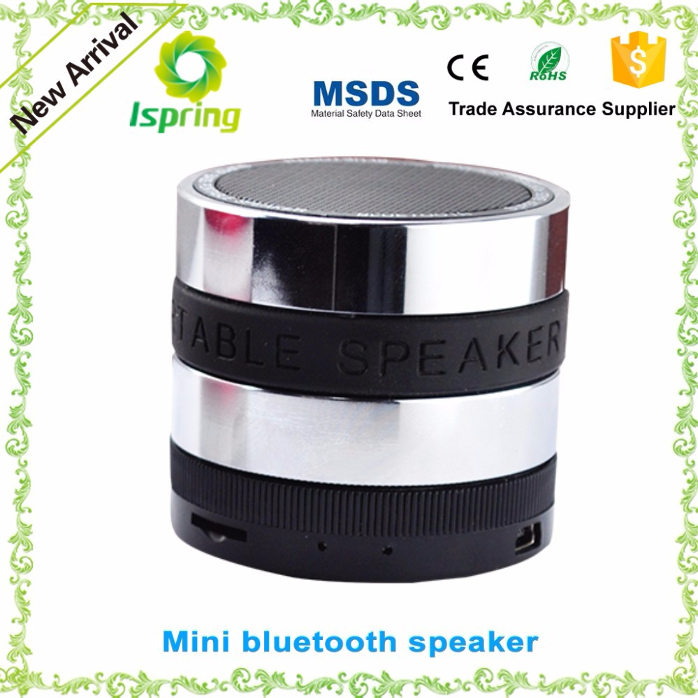 2016 Factory supply, custom metal bluetooth speaker