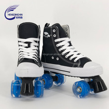 The New sell well Speed skating shoes adult canvas quad skates