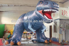 new blue inflatable model advertisement dragon ride on toy this year