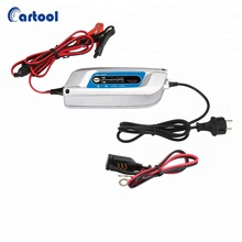 Portable 12V electric mini 6 Steps Full Automatic Intelligent car battery charger