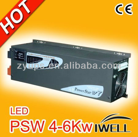PSW Serie Pure Sine Wave Inverter 5KW Power Inverter with Charger