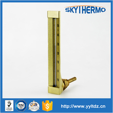 industrial high temperature red mercury glass thermometer price