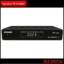 Good sales 1080P FULL HD DVB S2 & T2 Openbox v8 combo hd satellite receiver with Best price MOQ from 1 piece