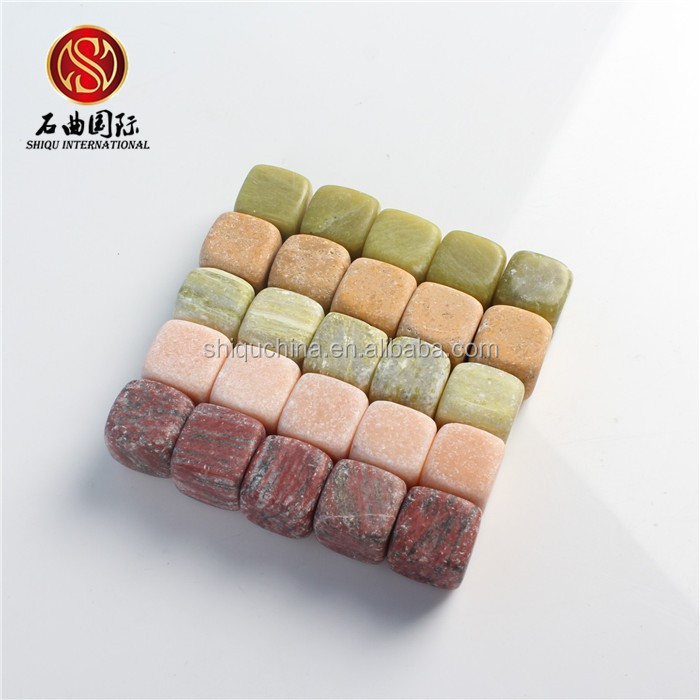 SQ 2015 brand new <strong>wine</strong> accessories beer bar 9pcs/set <strong>wine</strong> cooler chopeira multicolor marble ice cube whiskey stone