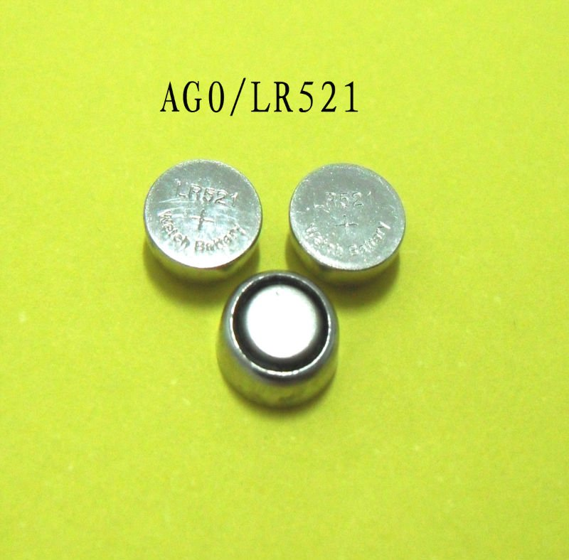 AG0 / LR521 / LR63 battery ag0 Button Cell Alkaline Batteries