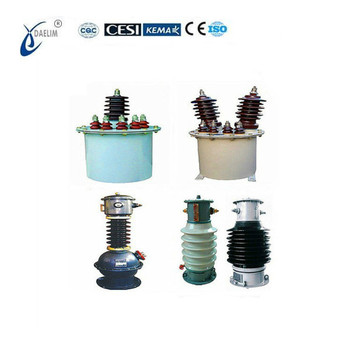 Outdoor 10KV 400/5A Oil-Immersed Type Current Transformer