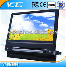 9-inch TFT LCD Car DVD Monitor with TV