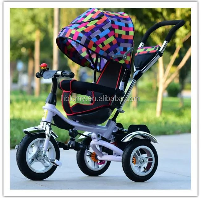 2016 China wholesale new model kids tricycle /music player with lamp baby children tricycle / cheap kids tricycle