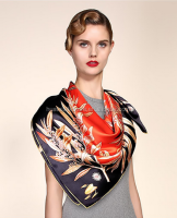 Wholesale plain Silk scarf white silk scarves for dying