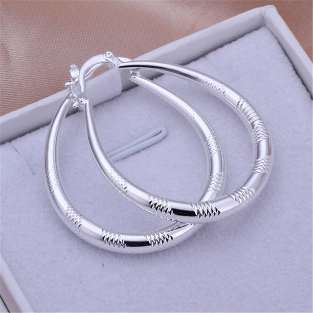 Tryme Bohemian lovely fashion cute silver women lady wedding earrings hot selling high quality fashion jewelry free shipping