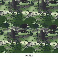 0.5m width new pattern liquid image 3d cubic hydrographic water transfer printing film green army camouflage