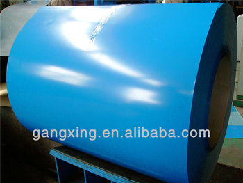 High quality prepainted steel coil for various industries