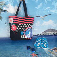 wholesale cheap cotton canvas beach bag online shopping