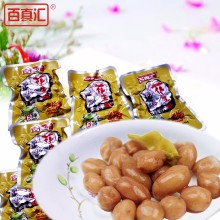 BAIZHENHUI peanut brands factory cheap pickled peanuts for importers