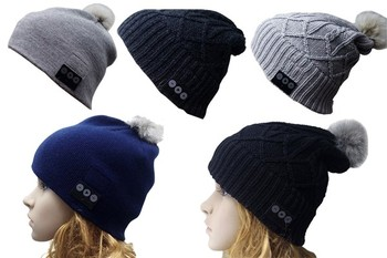 Best quality bluetooth earphone music cap wireless beanie hats