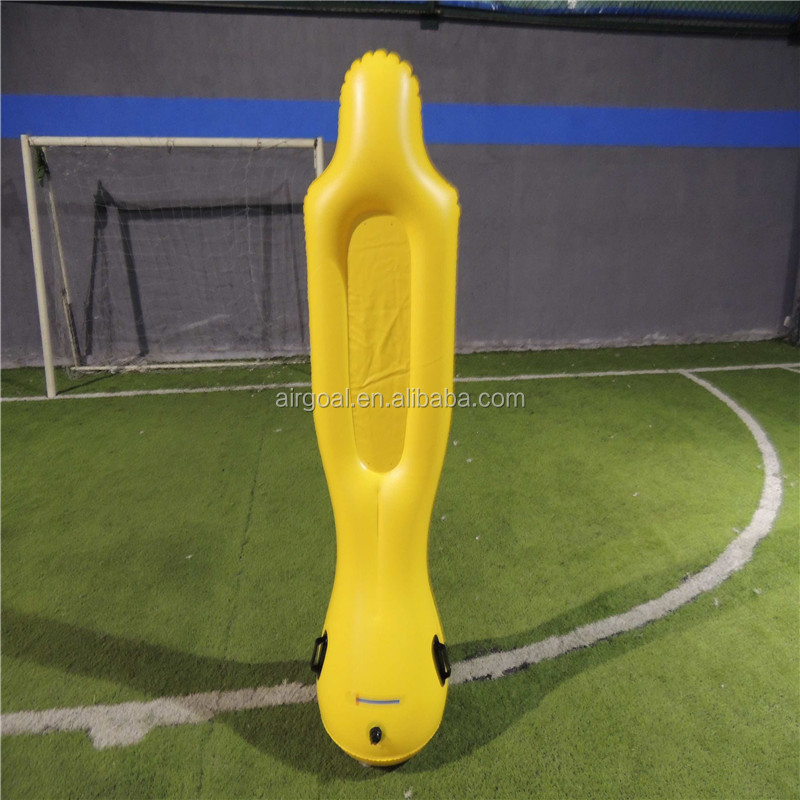 soccer equipments and training(inflatable soccer dummy)