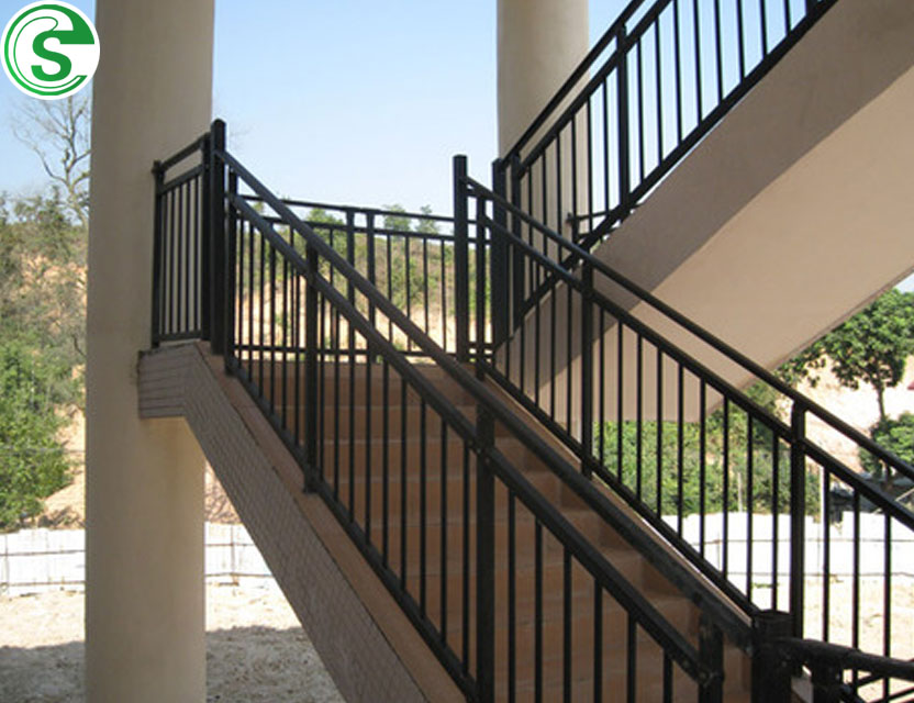 Stairway Rails Indoors/stair Railing Parts/wrought Iron Stair Glass Railing  Prices   Buy Stair Glass Railing Prices,Wrought Iron Railing,Stairway Rails  ...