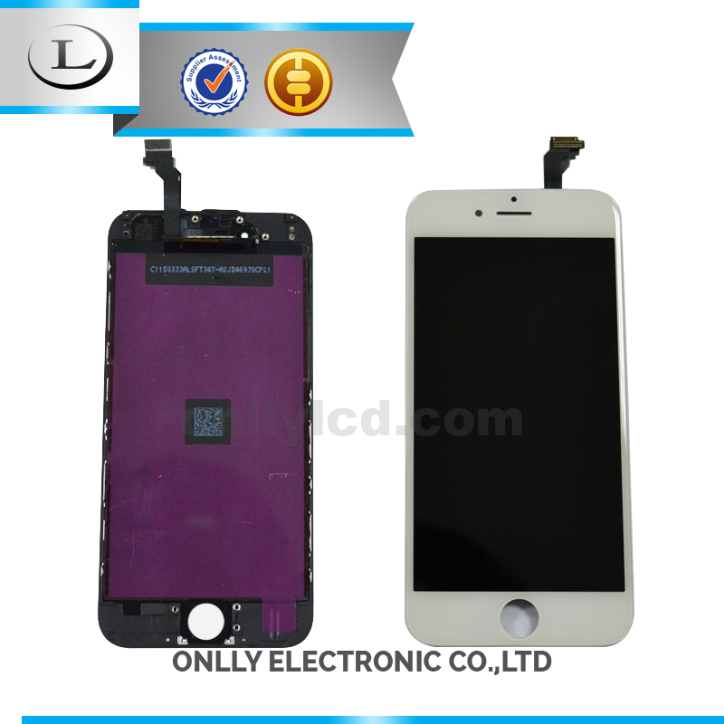 Screen flat panel lcd display for iphone 6,for iphone 6 lcd and digitizer
