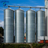 Different capacity volume galvanized steel storage silo used maize